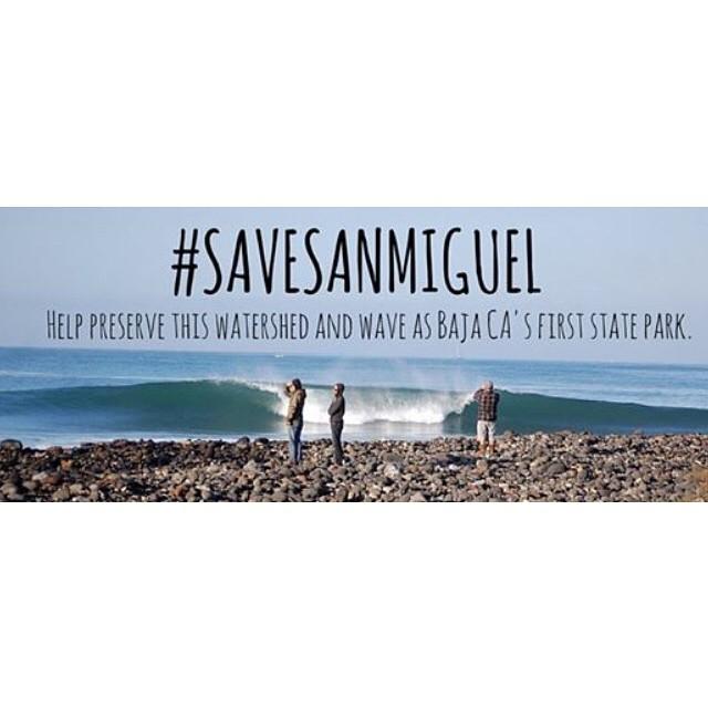 Junto a @savingwaves firma la petición en apoyo a la conservación del Arroyo y Playa San Miguel #SaveSanMiguel ? http://chn.ge/1uEaF2q