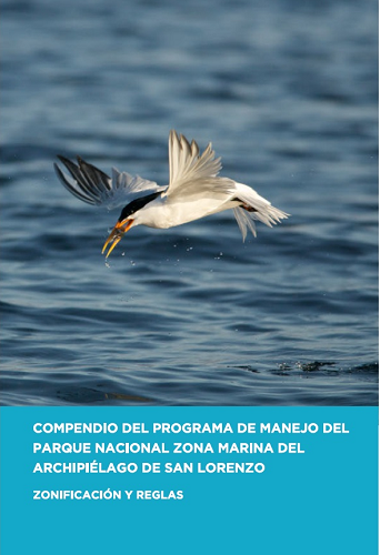 Compendio del programa de manejo del Parque Nacional Zona Marina del Archipiélago de San Lorenzo. Zonificación y Reglas. image