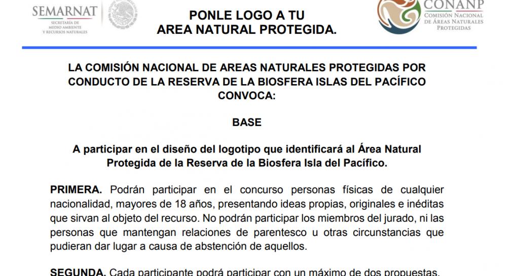 """Ponle logo al Área Natural Protegida """"Reserva de la Biosfera Isla del Pacífico"""" image"""